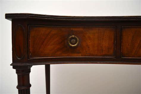 mahogany console table antique mahogany serpentine console table marylebone