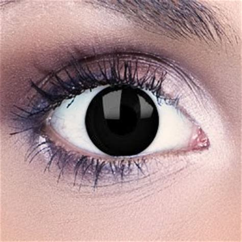 blackout contact lenses