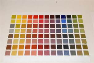 painting oil color value chart car interior design