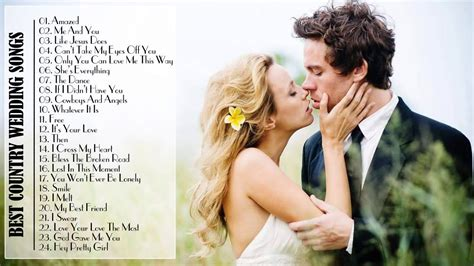Best Country Wedding Songs 2015 Country Love Songs For