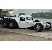 Semi Tractor/Hot Rod Custom Dragster  WeirdWheels