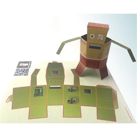 Robot Foldable Stand Holder Rt Us01 paper robot keplerbot