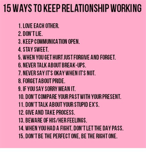Open Relationship Meme - 15 ways to keep relationship working 1 love each other 2