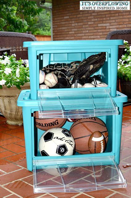 organize my backyard toys its overflowing