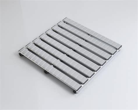 pedane doccia pedana doccia alluminio argento satinato antiscivolo