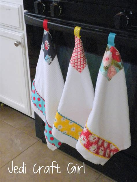 Jedi Craft Kitchen Towel Makeover