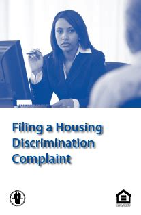 housing discrimination complaint consumer action