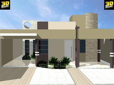 casa 3d 3danilo maquetes eletr 244 nicas 3d fachada 3d casa no