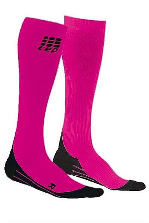 K Energy Sock Kualitas Original 100 cep compression socks running o2 pink