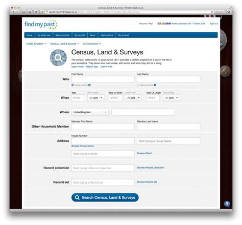 How To Search Census Records By Address Search Census Records Like A Pro Findmypast Genealogy Ancestry History From