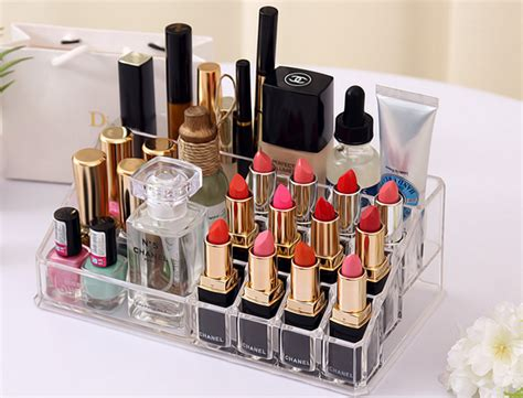 makeup holder for bathroom acrylic lipstick holder makeup organizer 4 drawers
