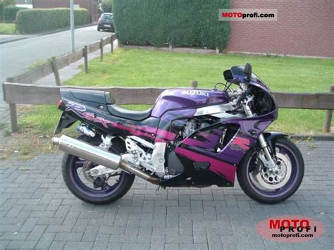 1994 Suzuki Gsxr 750 Suzuki Gsx R 750 W 1994 Specs And Photos