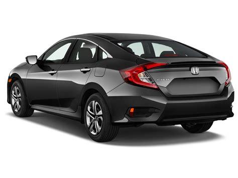 Honda Lx by Image 2016 Honda Civic 4 Door Cvt Lx Angular Rear
