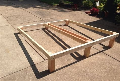 Raised Bed Frames Best 25 Raised Bed Frame Ideas On Pinterest Bed Frame And Mattress Simple Bed Frame And