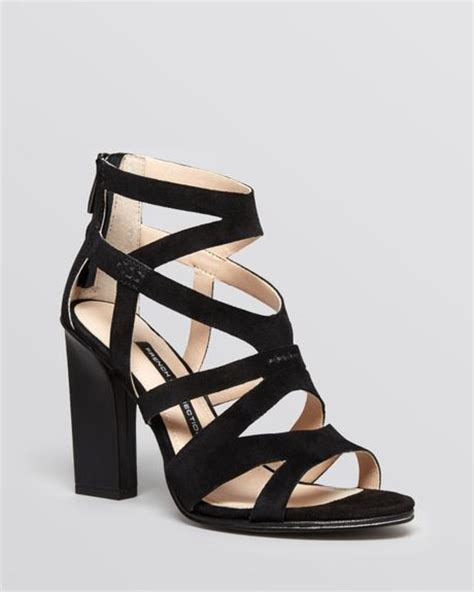 cage high heel sandals connection open toe caged sandals isla high heel