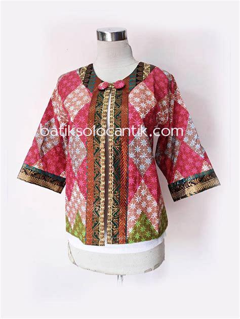Baju Atasan Wanita Batik Xio Blazer blazer batik wanita kerja terbaru baju kerja batik