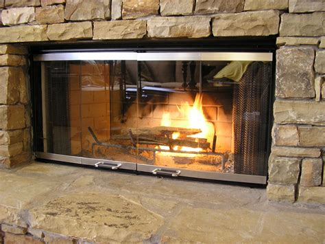 How To Use A Fireplace With Glass Doors by Breakdown Of Types Of Fireplace Doors Leticia S