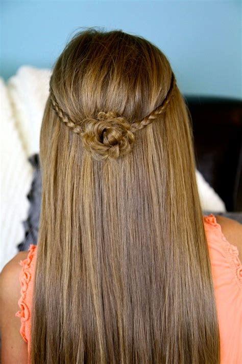 cute hairstyles pinterest cute girl hairstyles tiebacks hairstyles for girls