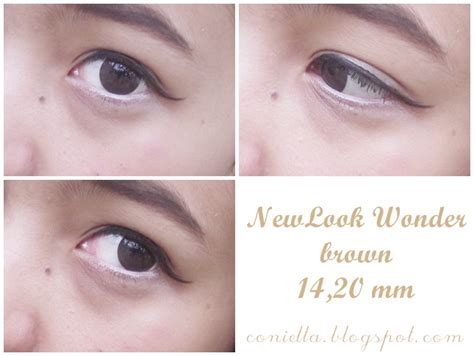 Soflens X2 Diary 04 Brown review newlook softlens in brown conietta cimund