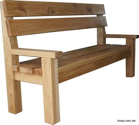 oak bench plans best 25 garden bench plans ideas on pinterest wooden
