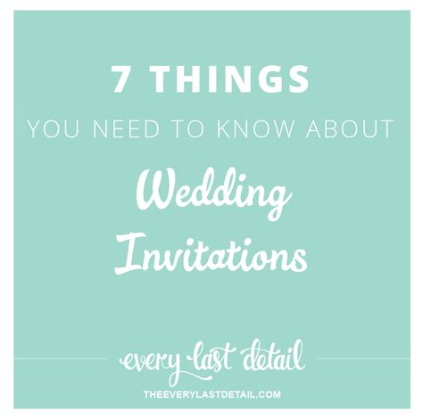 7 Things You Need To About Germs by 7 Things You Need To About Wedding Invitations