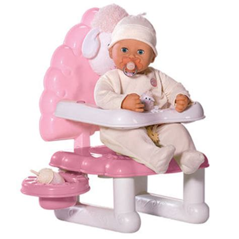 baby annabell 3 in 1 highchair swing and comfort seat baby annabel high chair