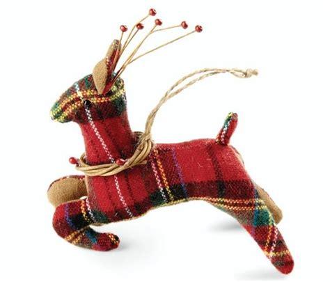 weihnachtsdekoration ideen 3493 plaid reindeer style