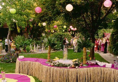 ideas  hawaiian wedding reception weddingelation