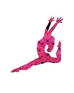 Lilly Pulitzer Bedroom Ideas gymnast poster girl gymnastics art dancer art pink teen