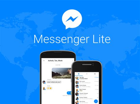 facebook lite facebook launches messenger lite app for entry level androids