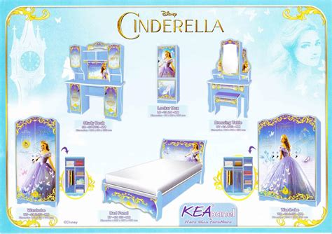 cinderella bedroom furniture disney bed series carson furniture