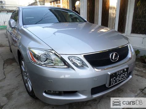 how to sell used cars 2005 lexus gs electronic throttle control lexus gs 350 2005 506390 for sale in mayangone carsdb