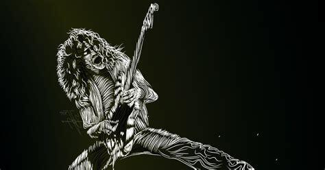 quien es eddie van halen zeppelin rock eddie van halen elegido mejor guitarrista