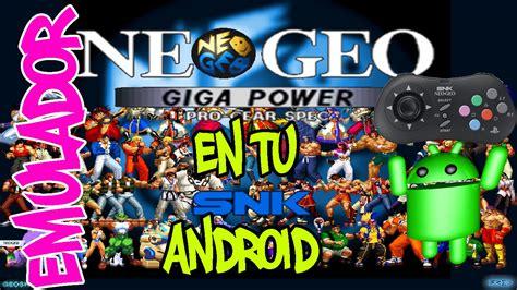 aptoide epsxe como descargar e instalar emuladro neogeo android y sus
