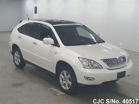 toyota harrier 2008 2008 toyota harrier pearl for sale stock no 40517