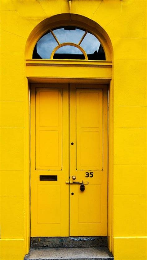 bright yellow door daffodil yellow door color schemes daffodil yellow from