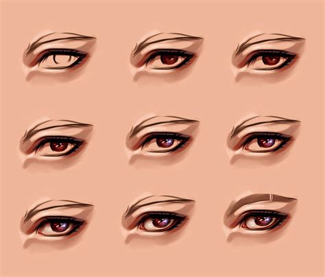 paint tool sai realistic eye tutorial eye process 2 by ryky on deviantart