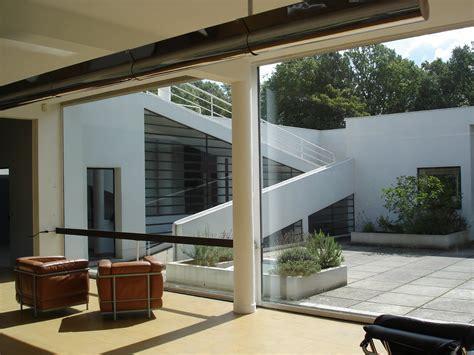 Villa Savoye Innen by Villa Savoye 1930 By Le Corbusier