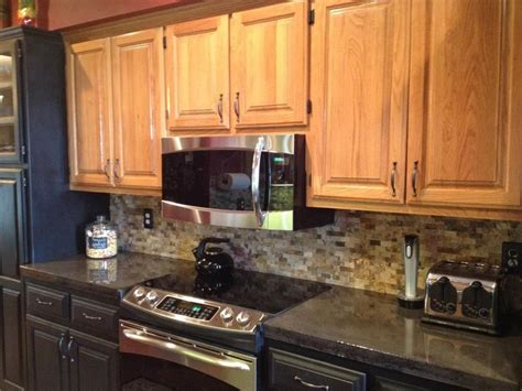 Concrete Countertop Backsplash Kitchen Concrete Countertops Charcoal Stain Finish