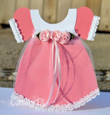 baby dress card template ideas for scrapbookers baby dress card and template