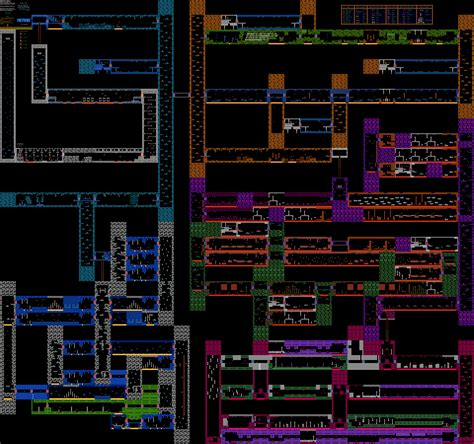 metroid map metroid all of planet zebes nintendo nes map