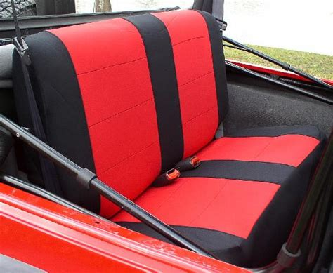 Waterproof Seat Covers Jeep Wrangler All Things Jeep Jeep Wrangler Neoprene Bench Seat Covers