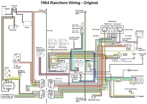 stereo wiring diagram for el falcon wiring diagram landor