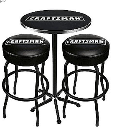 sears craftsman pub table 2 stool combo 59 49 was 120