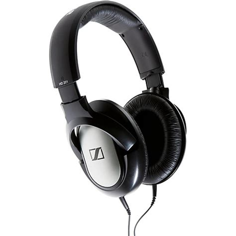 Headset Sennheiser Hd 201 sennheiser hd 201 pro closed back headphones musician s