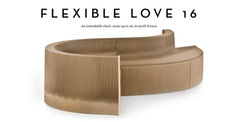 flexible love sofa flexible love 16 chair in earth brown made com