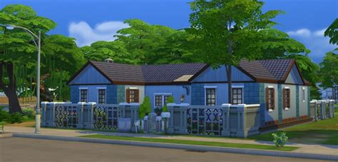 Hyacinth House by Hyacinth House At Estate 187 Sims 4 Updates