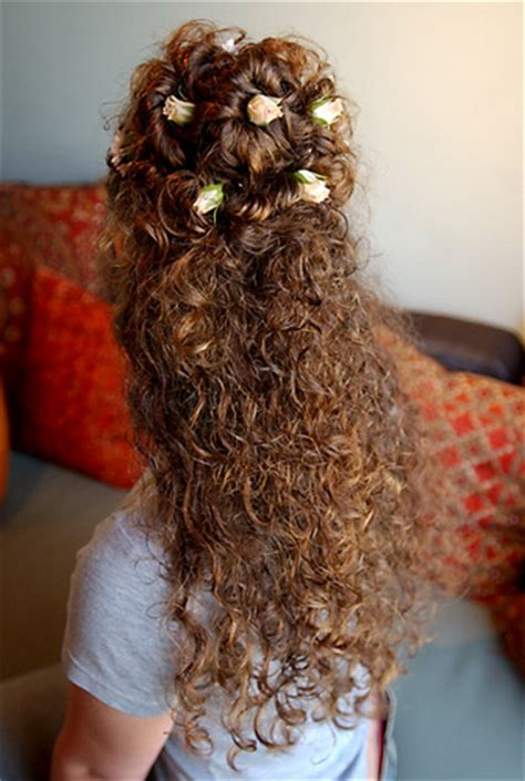 half up half down hairstyles for naturally curly hair creative curly half up half down by naturallycurly