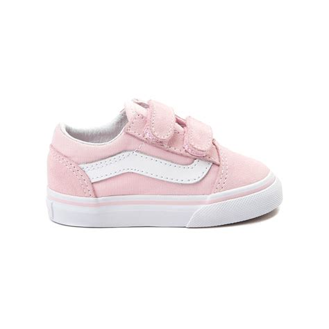 light pink baby shoes vans old skool v skate shoe pink 99498177