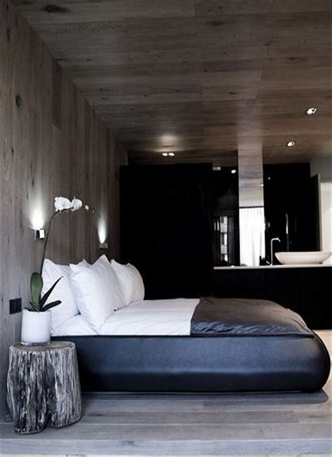 masculine  contemporary masculine bedroom interiors
